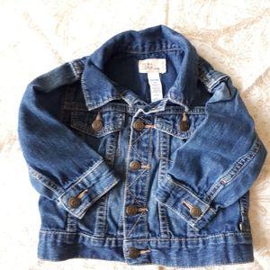 2/$25 - Denim Gap jacket 12-18 mths